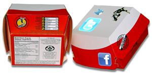 Twitter Facebook Combo