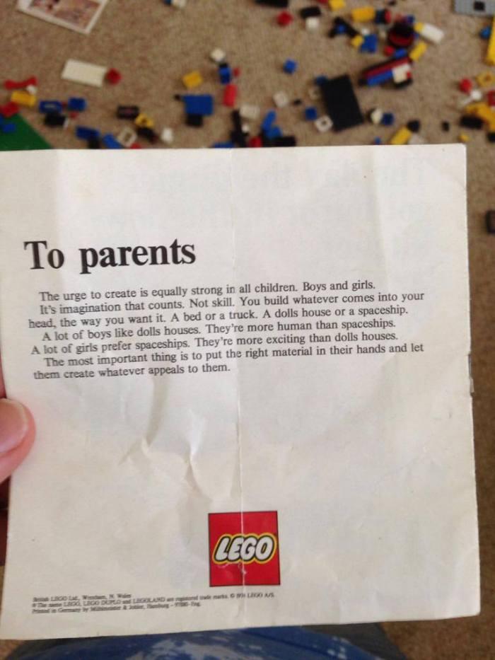 Volta, Lego!